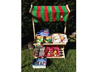 ELC Toy Wooden Shop/Market Stall plus extras