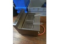 Parry AGF/P Propane Gas Table Top Twin Fryer