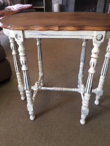 antique side/night table