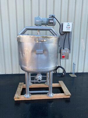 Walker 150 Gallon Scrape Surface Jacketed Kettle Tank Processor Video Link