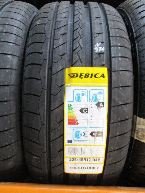 n970 1x 225 45 17 94y debica presto uhp 2 xl new tyres. Black Bedroom Furniture Sets. Home Design Ideas
