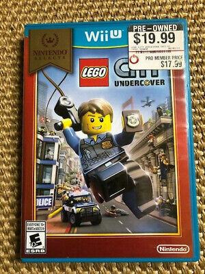 LEGO City Undercover Nintendo Selects (Nintendo Wii U, 2016)