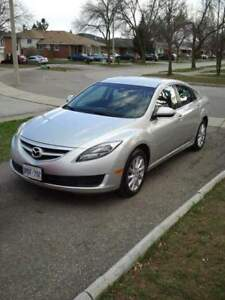 2013 Mazda 6. All highway km's Priced to Sell! $4500 OBO