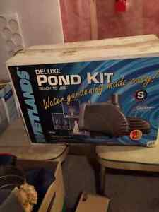 Pond liner and kit - never been used