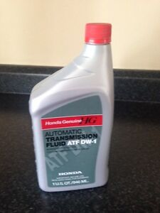 Honda ATF DW-1 and Differential Fluid II