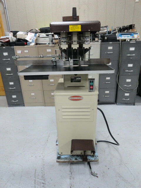 Challenge Eh-3a, 3 Hole Drill, Floor Model, (brown)