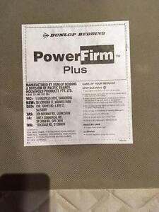 DUNLOP POWER FIRM KING SIZE SINGLE BASE x 2 Parkdale Kingston Area Preview