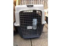 2 Airline Approved Dog Crates. Used Once excellent Condition.