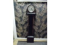 vintage 1930s/40s granddaughter clock converte to quartz battery movement,