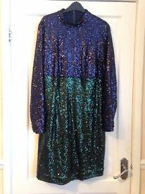 Myleene Klass Sequined Dress - Size 18