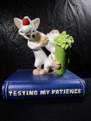 "Warner Brothers "" PINKY & THE BRAIN TESTING MY PATIENCE "" Figurine"