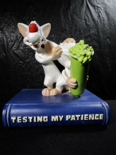 "Warner Brothers "" PINKY & THE BRAIN TESTING MY PATIENCE "" Figurine"