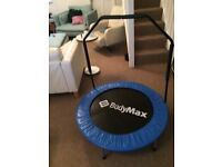 Mini trampoline with handle,l