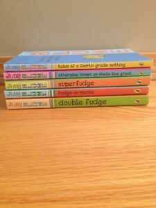 Children's Books by Judy Blume (complete 5-book collection)
