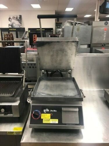 Flat Top and Bottom Commercial Panini Grill Press