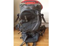 Macpac red child carrier