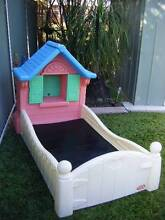 LITTLE TIKES TODDLER BED FIT FOR A PRINCESS Silkstone Ipswich City Preview