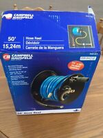"""50' Hose Reel & 3/8"""" x 50' Air Hose Included - Never Used"""