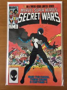 MARVEL SUPER HEROES SECRET WARS #8 comic book - 1ST BLACK SUIT