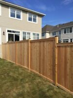 FALL SPECIAL FENCE INSTALLATIONS  – UNBEATABLE PRICES!