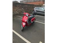 Ksr Vertigo 125cc twist and go. FSH, 2 keys, manual, back box