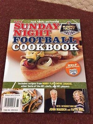 Sunday Night Football Cookbook Time Inc 2008 Cookbook Time Inc  John Madden  71B