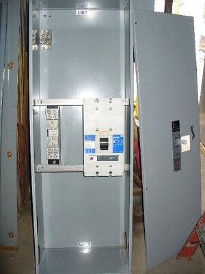 Cutler Hammer 800 Amp Molded Case Circuit Breaker Nd3800t33w In Nema 1 Enclosure
