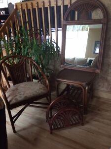 meubles de rotin