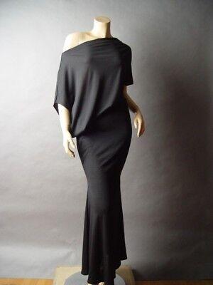 Sale Off One Shoulder Boat Neck Goddess Long Maxi 236 mv Dress S M L 1X 2X 3X