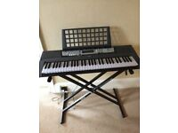 Yamaha EZ-200 61 Full-Size Touch Sensitive Lighted Keyboard