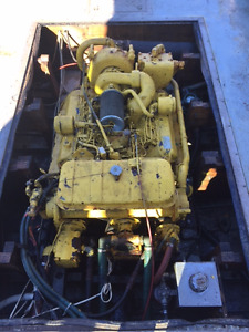 3208 cat engine with transmission