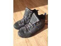 Grey walking boots age 9 hardly worn