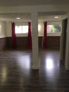 Spacious/Bright/Private 2 Bedroom Basement Suite FOR RENT