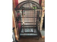 Large Parrot Cage New