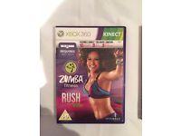 ZUMBA FITNESS RUSH FOR THE XBOX 360