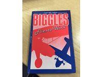 Biggles Flies to Work Hardcover book