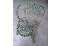 Child's pretty cane chair