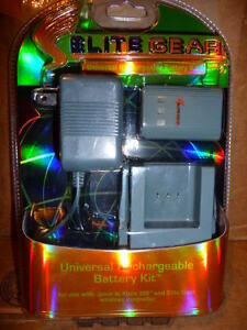 Elite Gear Universal Rechargeable Battery Kit for Xbox 360 & Eli