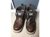 CAT boots size 7