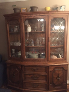 Hutch for sale 20 years old. wood