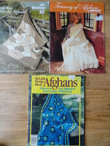 Afghan Pattern Books. Cambridge Kitchener Area image 1