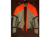 ' INCA' MOTORBIKE JACKET - ITALIAN MAKE - SIZE LARGE - £65