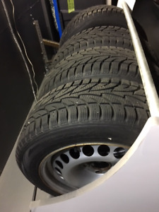 205/55R16 Snow Tires and Winter Rims for sale