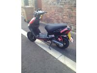 2008 keeway hurricane 50cc spares or repair