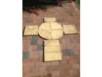 900mm paving circle