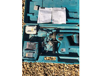 MAKITA BHR200 Cordless 24v SDS Hammer Drill in used condition