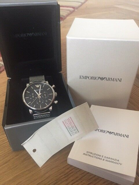 72045e570 Mens Emporio Armani Chronograph Watch AR1808 | in Kingston ...