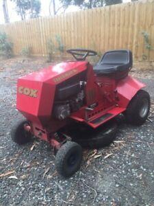 Cox Ride On Mower