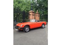 MGB Roadster (Range Rover required)