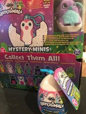 New Hatchimals Adorable Mystery Mini Plush Clip On  Super Gift   Free Shipping